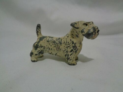 Antique Hubley Cast Iron Sealyham Terrier Paperweight 13 oz