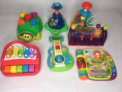 Lot Of Baby Toys Developmental 6-12 Months
