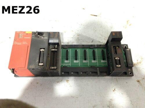 Mitsubishi Electric A2SCPU 14k Step PLC Processor w/ 8-Slot I/O Rack/2 Modules