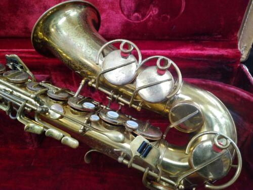 Vintage German Alto Saxophone *Triple Octave Vents*  by Hammerschmidt