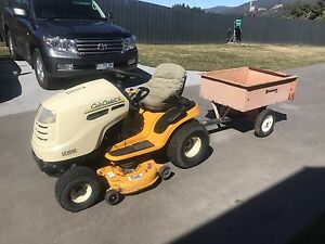 42 inch Ride on lawn mower and trailer Glen Huon Huon Valley Preview