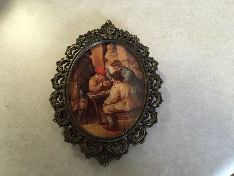 Vintage Frame Pictures, Italy 6.5x5