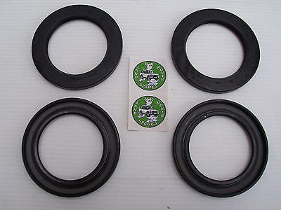 LAND ROVER SERIES 2 & 3 HUB OIL SEALS - FRONT & REAR SEALS UPTO 1980 - RTC3510