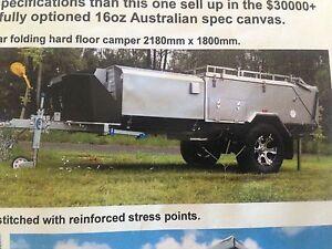 Austrack Rear Folding Hard Floor Camper Trailer Kingscliff Tweed Heads Area Preview