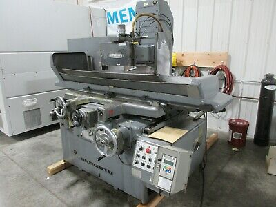 Okamoto Psg-84 16x32 Hydraulic Automatic Surface Grinder W Inc. Downfeed