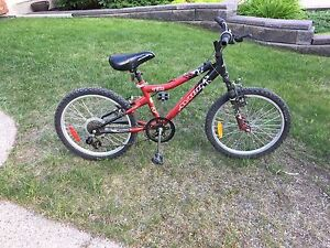 Red bike for sale $20