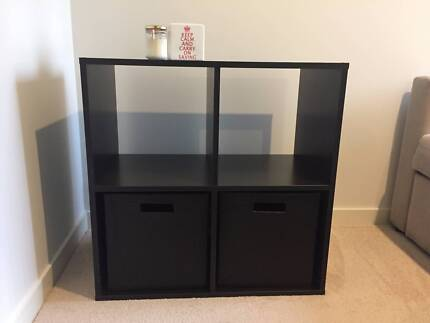 Shelving Unit with 2 drawers in great condition