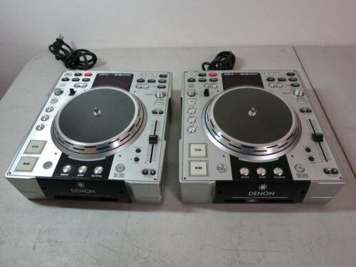 Lot of 2 Denon DN-S3500 CDJ CD Player lot free US shipping