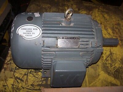 Worldwide 15 Hp Ac Electric Motor 254t Frame 3550 Rpm 230460 Vac Tefc