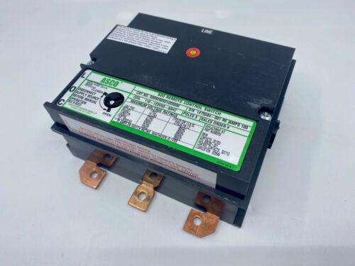 ASCO 920 REMOTE CONTROL SWITCH - 100 AMPS - 0009200301003000