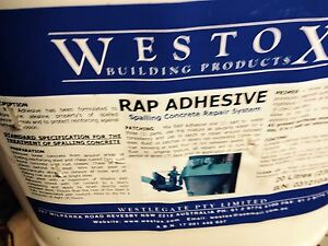 WESTOX Rap Adhesive  20 litres Casula Liverpool Area Preview