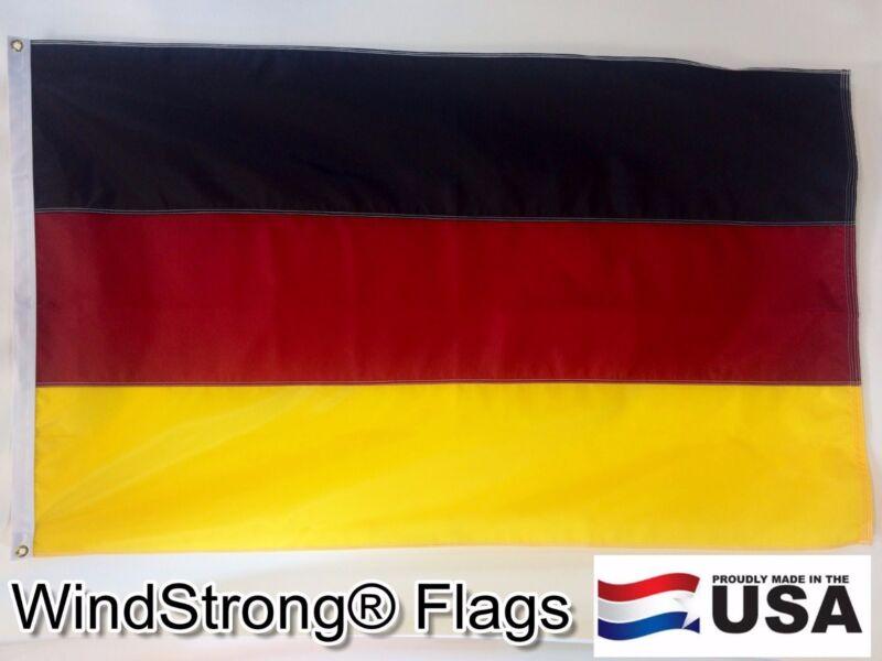 3x5 FT GERMAN GERMANY OKTOBERFEST FLAG FULLY SEWN STRIPES SOLARMAX NYLON US MADE