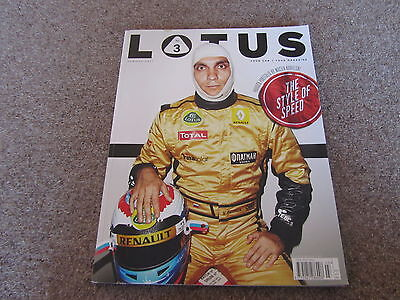 LOTUS OFFICIAL MAGAZINE SUMMER 2011 NO. 3 ELISE ESPRIT F1 PETROV BROCHURE
