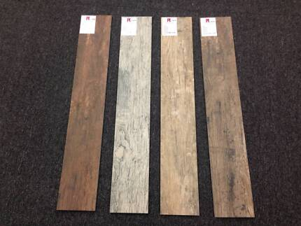 DRIFTWOOD PORCELAIN TIMBER TILE - 4 COLOURS - GREAT DEALS Greenacre Bankstown Area Preview