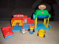 Fisher Price Little People Car Wash Spin N Sparkle Kids Children Toy - fisher-price - ebay.co.uk