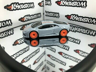 Hot Wheels - Lamborghini Huracan - SUPER CUSTOM with Real Riders