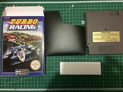 Turbo Racing FAH jeu video Nintendo Nes en boite (reproduction)