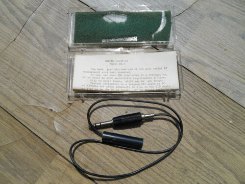 Vintage NOS Dycomm Sniff-it DS-1 RF Probe
