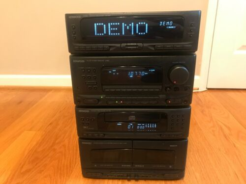 Kenwood HiFi separate stereo system A-522/GE-522/DP-722/X-722 - everything works