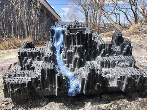Lego mega blocks castle foundation