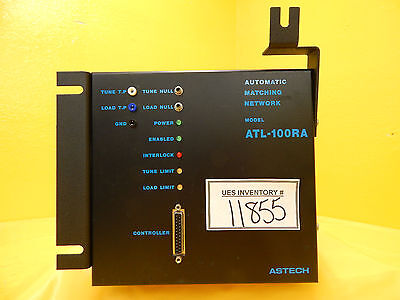 Rfpp Rf Power Products Atl-100ra Automatic Matching Network Astech Used Working