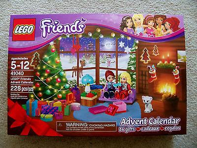 Lego Friends   Rare Advent Calendar   41040   New   Perennial   Christmas