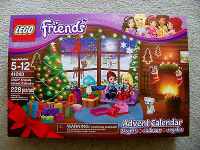 LEGO Friends - Rare Advent Calendar - 41040 - New - Perennial - Christmas
