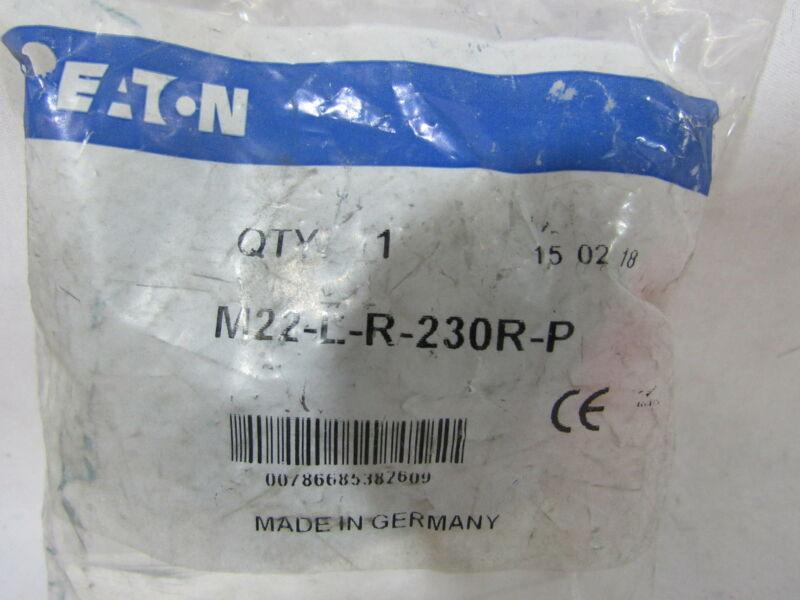 Eaton NSB M22-L-R-230R-P Pushbutton Illuminated 85-264V