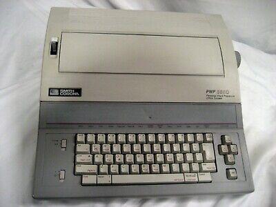 Refurbished Smith Corona Pwp 3850 Typewriterword Processor Floppy Dr.wwarranty
