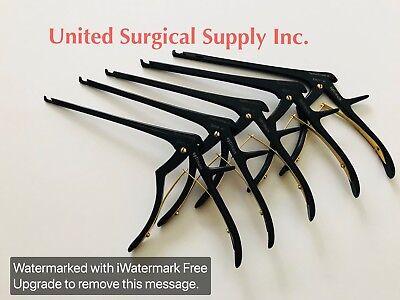 Kerrison Rongeurs Cnc Ejector Tip 7 Set Of 5 45-90 Deg Up Bite Lumbar Spine