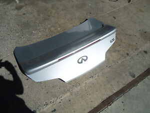 2003-2007 INFINITI G35 COUPE TRUNK LID WITH SPOILER