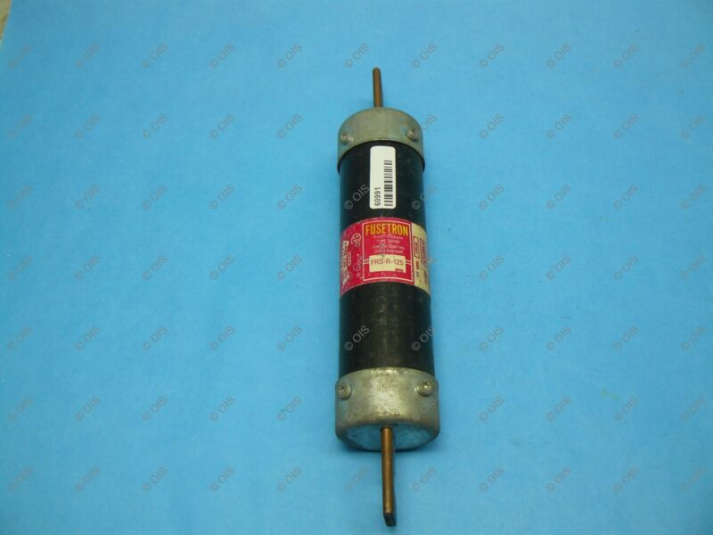 Bussmann FRS-R-125 Time-delay Fuse Class RK5 125 Amps 600 VAC/300 VDC Tested
