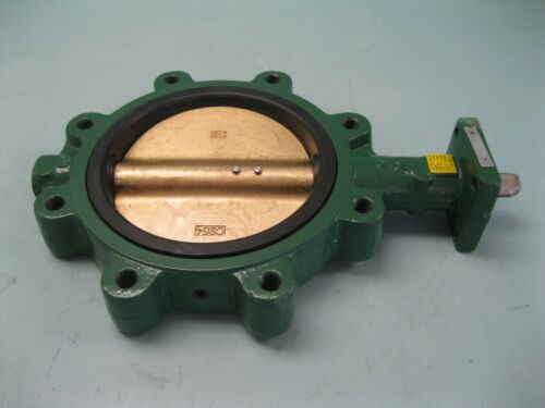 "8"" Crane Center Line Series 200 Lug Butterfly Valve DI/Al Br/EPDM NEW P7 (2524)"
