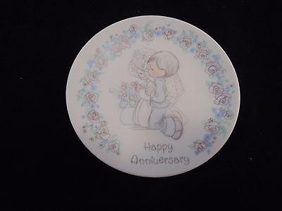 Precious Moments 1989 Happy Anniversary Mini Collectors Plate