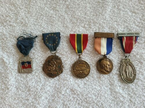 Boy Scout of America Trail Medal / Award Collection