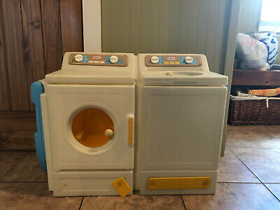 Vintage Little Tykes Washer, Dryer, Ironing Board, Child Size Play Pretend.