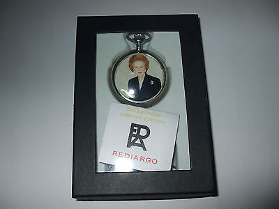 The iron lady Margaret Thatcher limited edition pocket watch