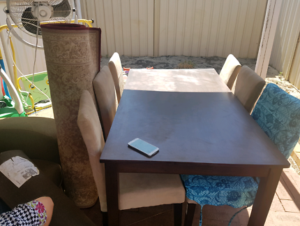 Dinning Table X 6 Chairs