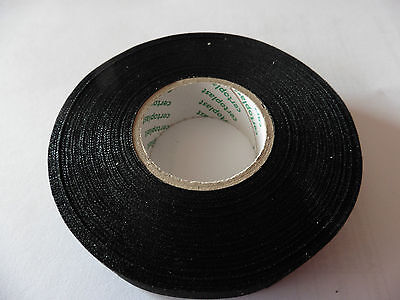 5x Tape Klebeband Vlies Rolle 25m x 9mm Gewebeband 105°C KFZ Auto 0,084€//m