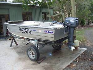 SEA JAY NOMAD 3.7m; 15hp 2 STROKE YAMAHA; TRAILER - MAKE AN OFFER Howard Fraser Coast Preview