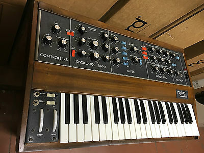 Original Vintage Moog Minimoog Model D Old Osc Analog Synth  S N 4Xxx  Armens
