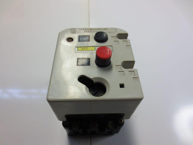 Klockner Moeller Motor Starter, Breaker PKZM3-16-U-NA PKZM316UNA 600VAC