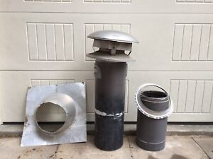 """8"""" insulated chimney"""