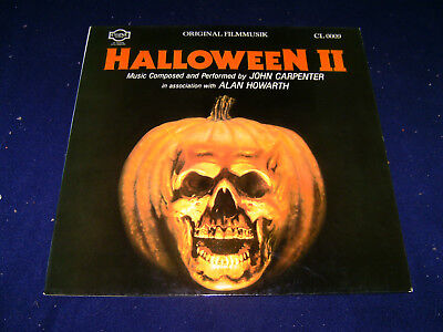 ack Filmmusik Horror CL 0009 John Carpenter 1982 LP Vinyl  (Halloween Ii Film-soundtrack)