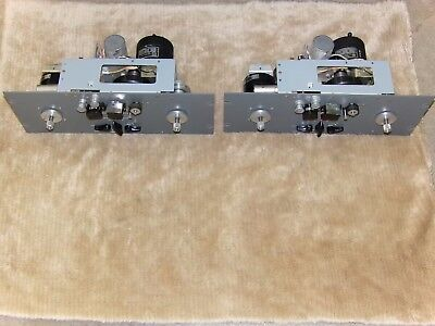 PAIR Magnecord PT6-6AX REEL TO REEL TAPE RECORDER DECK TRANSPORT NICE CLEAN!!!!!