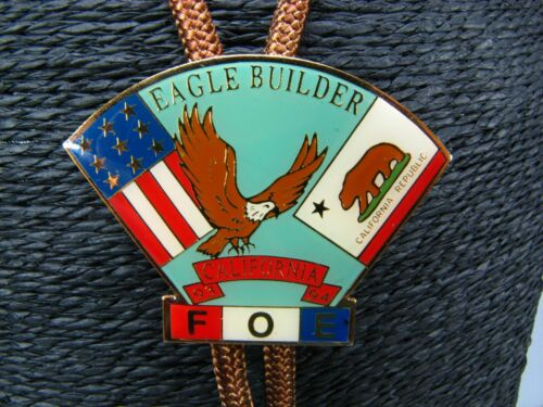 FOE BOLO Eagle Builder 93-94 FRATERNAL ORDER OF EAGLES California  F.O.E. ORDER