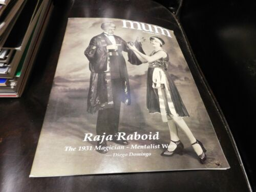 MUM Magazine Magic Unity Might 2004 August Raja Raboid