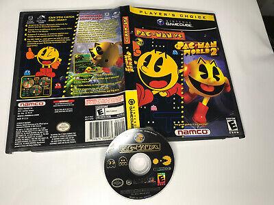 Pac-Man vs./Pac-Man World 2 (Nintendo GameCube, 2003) - 1 Dusk Only!  READ!