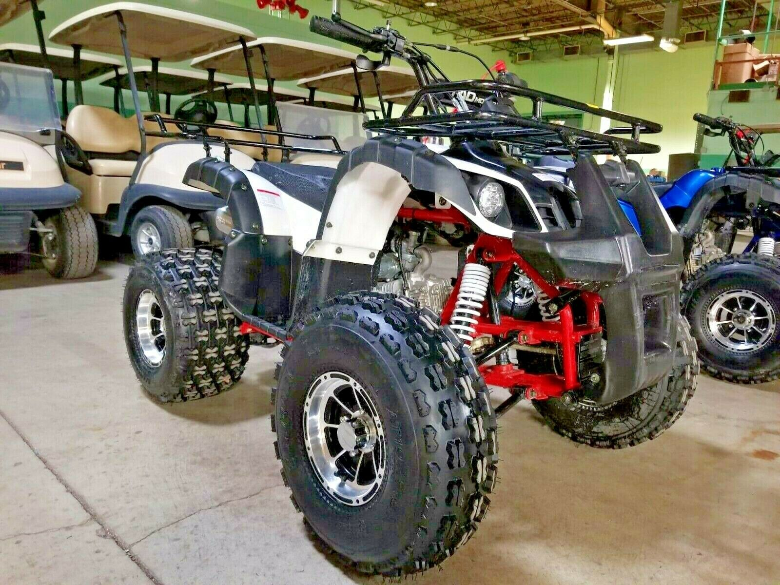 125cc Quad TForce Four Wheeler Utility ATV 4 Wheeler w/Auto Trans