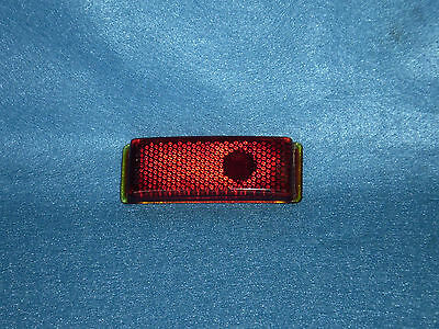 1941 Ford Glass Tail Light Lens New OEM NOS  Duolamp 11A  19 Stimsonite Warranty